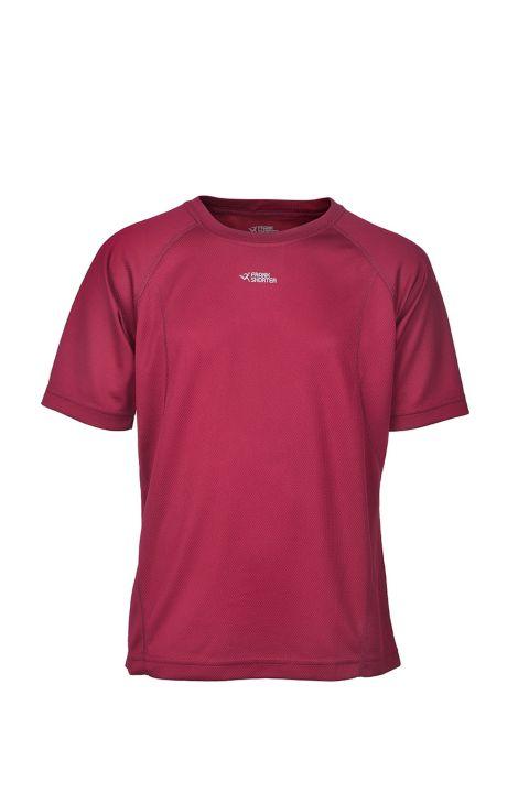 Martin II Trenings T-Skjorte Jr. RED WINE