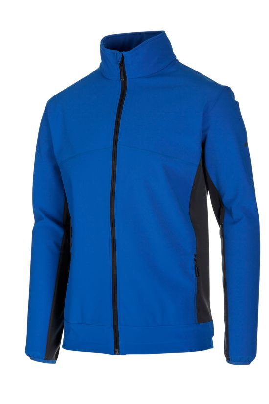 Lusaka Softshell Jakke Herre BLUE ROY/ANTHRA