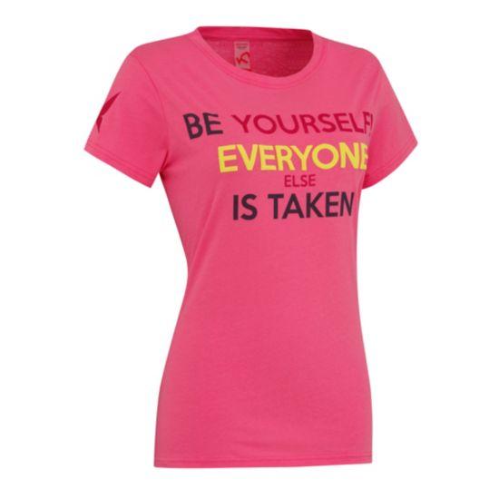 Attitude T-skjorte Dame PINK