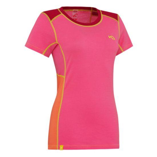 Tikse Ull T-Skjorte Dame PINK