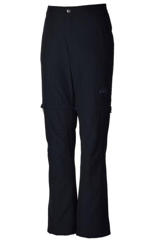Morgan Zip-Off Bukse Herre BLACK
