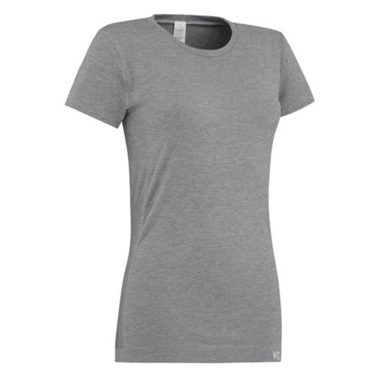 Kristina Trenings T-Skjorte Dame GREYM