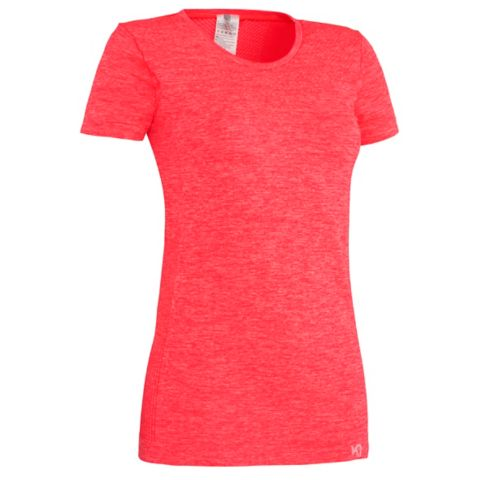Kristina Trenings T-Skjorte Dame CORAL