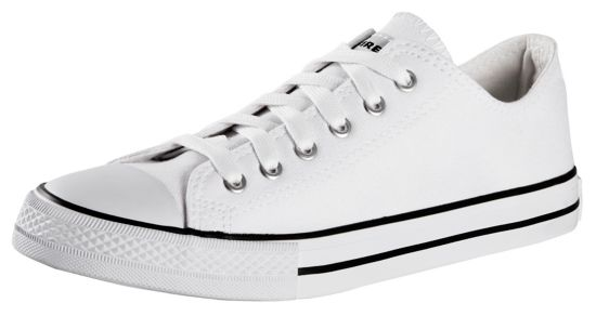 Canvas Low III Fritidssko Dame WHITE