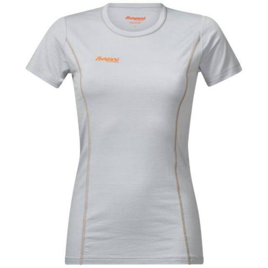 Soleie Ull T-Skjorte Dame ALU/PUMPKIN