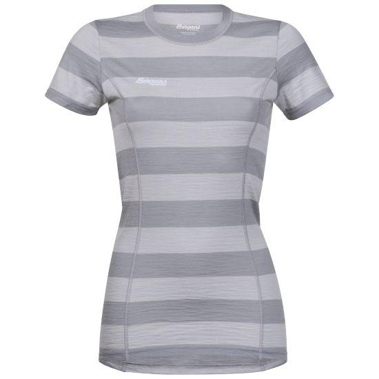 Soleie Ull T-Skjorte Dame ALU/SOLIDLTGREY