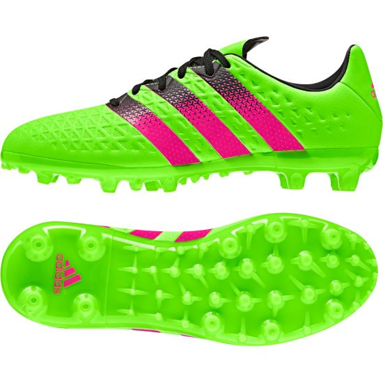 Ace 16.3 FG/AG Fotballsko Jr. SGREEN/SHOPIN/C