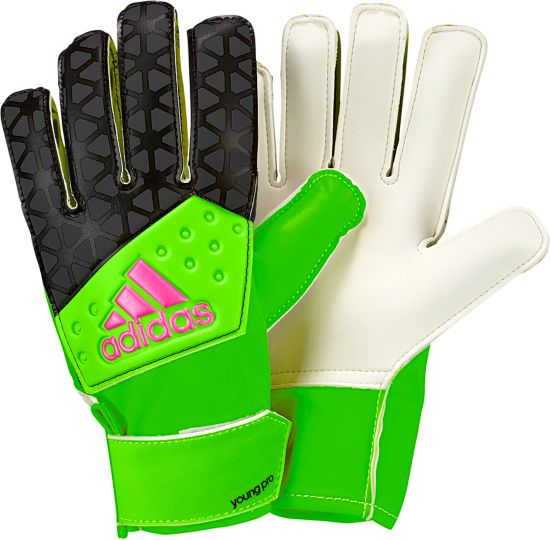 Ace Yong Pro Keeperhanske BLACK/SGREEN/SH