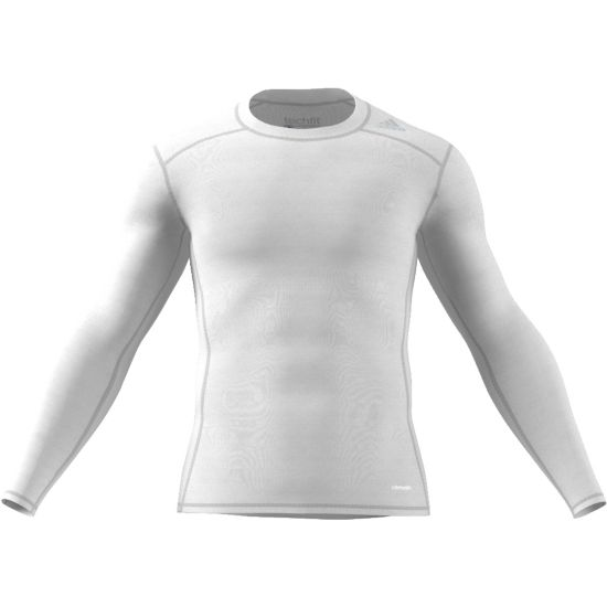 Techfit Base Long Sleeve Herre WHITE