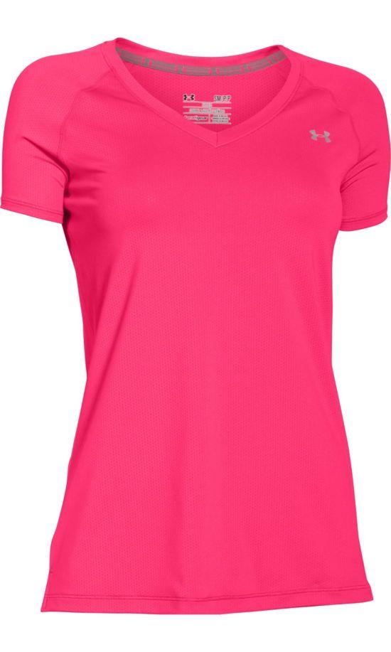 Heatgear Armour Trenings T-Skjorte Dame ROSA