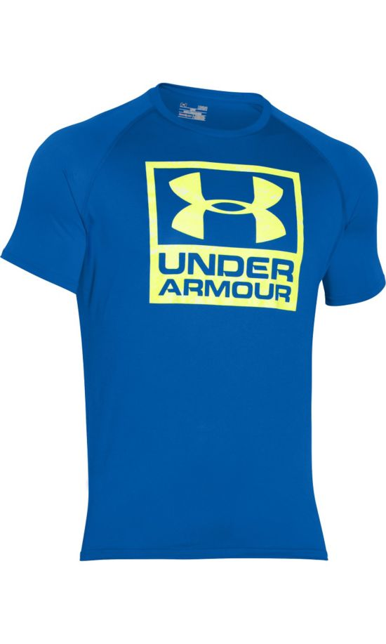 Boxed Logo Trenings T-Skjorte Herre