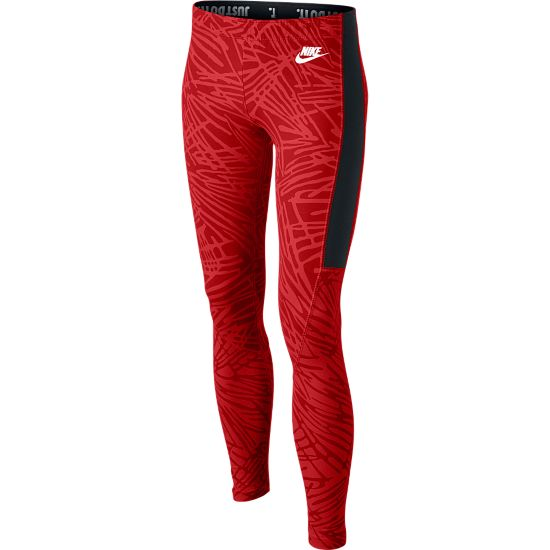Leg-A-See AOP Tights Junior UNIVERSITY RED/
