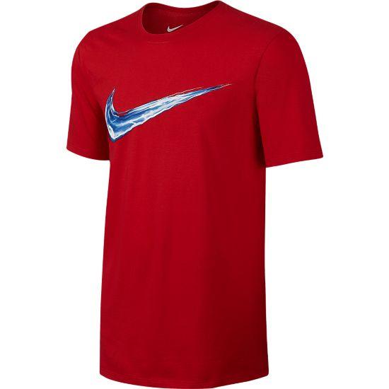 Swoosh Streak T-skjorte Herre UNIVERSITY RED/
