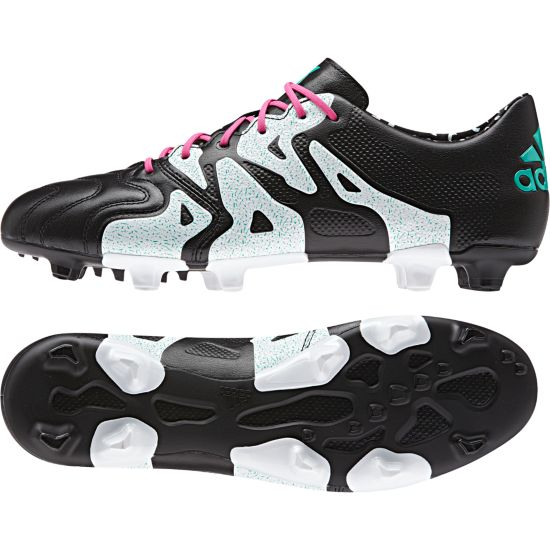 X 15.1 FG/AG Leather Fotballsko