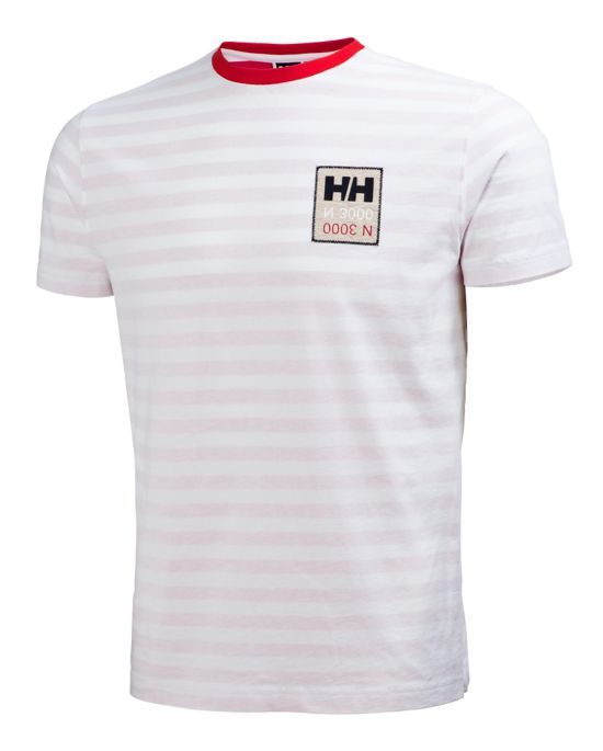 Graphic T-skjorte Herre FLAG RED STRIPE