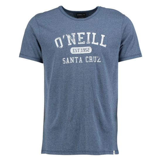 Santa Cruz Melange T-skjorte Herre TRUE NAVY
