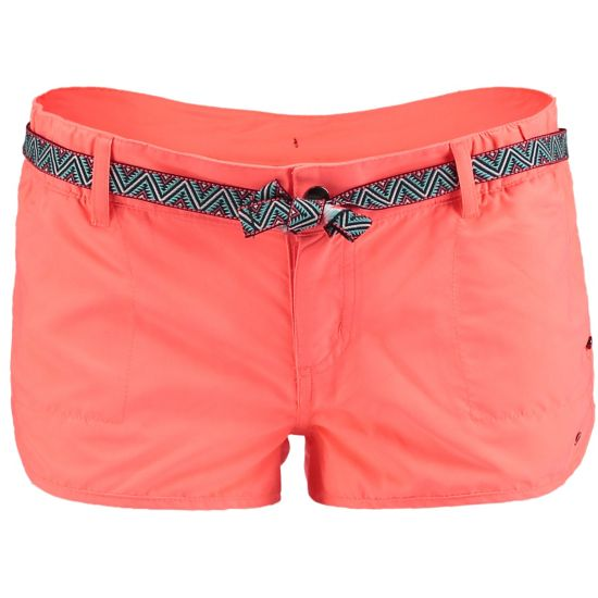 Chica`s Solid Shorty NEON TANGERINE