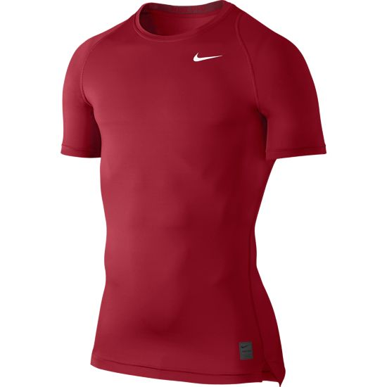 Pro Cool Kompresjons T-skjorte Herre GYM RED/TEAM RE