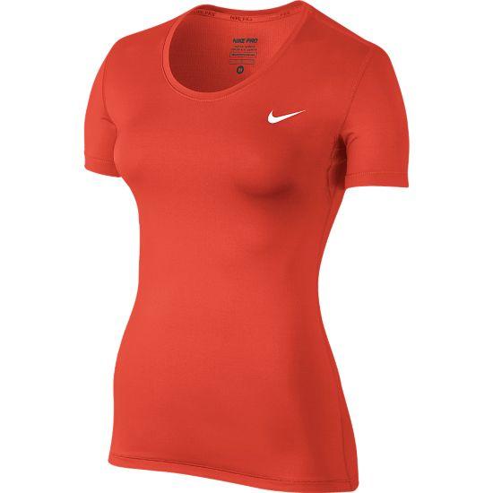 Pro Cool T-skjorte Dame LT CRIMSON/WHIT