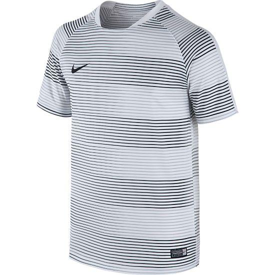 Flash Graphic T-skjorte Junior WHITE/WHITE/BLA