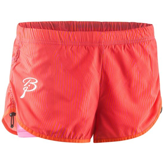 Confidence Treningsshorts Dame PINK GLO/CHERRY