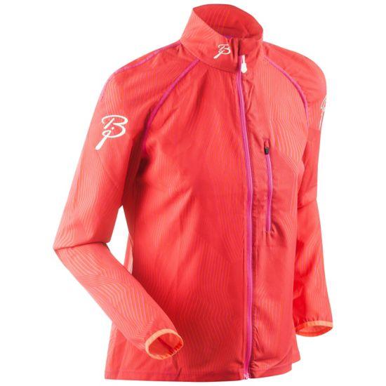 Confidence Treningsjakke Dame PINK GLO/CHERRY