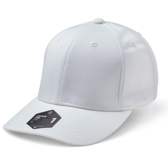 Crown 1 Ex-Band Cap 010-WHITE