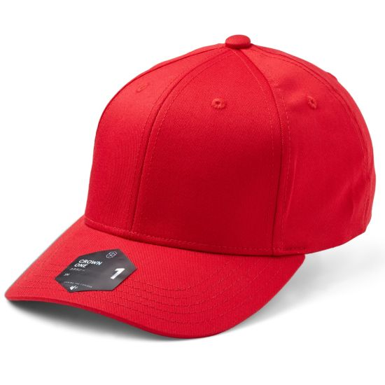 Crown 1 Ex-Band Cap 0040-RED