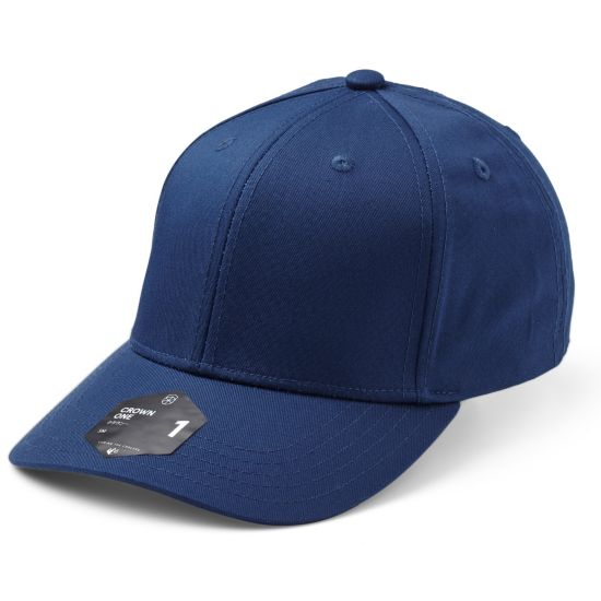Crown 1 Ex-Band Cap 0052-NAVY BLUE