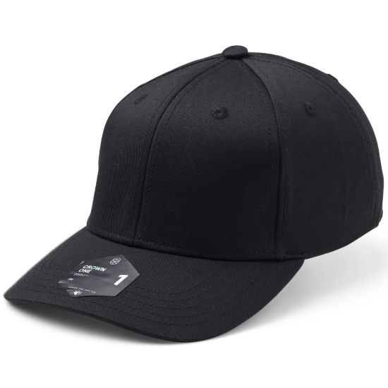 Crown 1 Ex-Band Cap BLACK