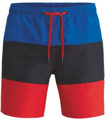 Loose Colourblock Shorts Herre