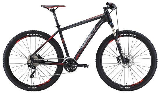Big Seven 500 Terrengsykkel Herre MATT BLACK