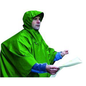 Nylon Tarp Poncho 150x266 cm regnponcho og tarp