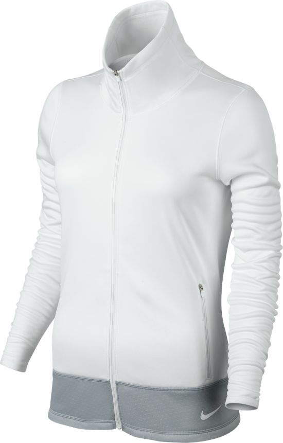 Thermal Full Zip Jacket Dame WHITE/WHITE/WHI