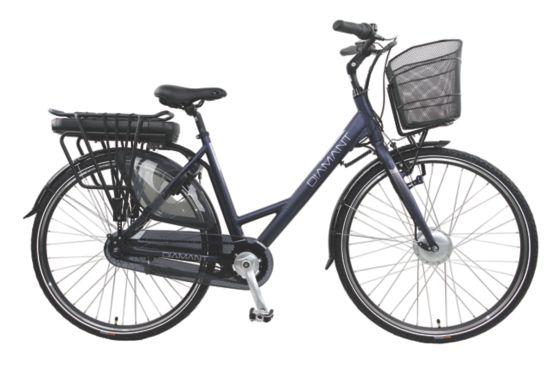 Volt 5 El-sykkel Dame WHITE