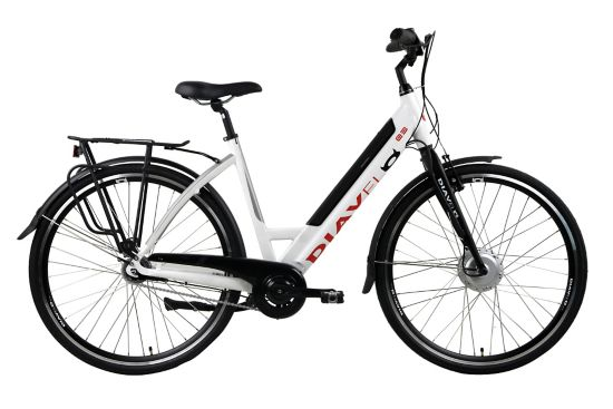 E3 El-sykkel Dame BLACK