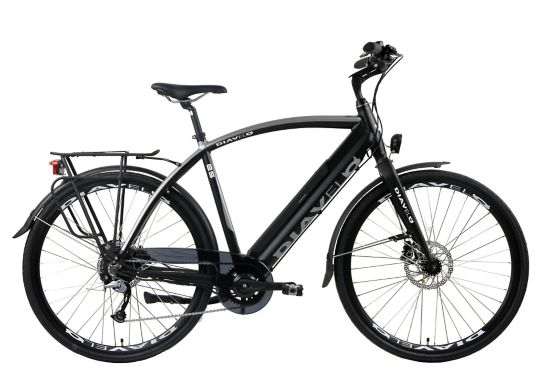 E5 El-sykkel Herre BLACK