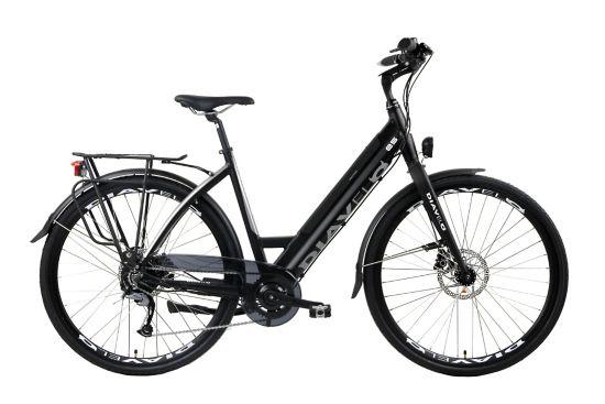 E5 El-sykkel Dame BLACK
