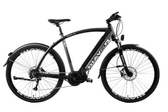 E7 El-sykkel BLACK