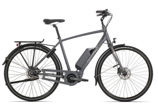 Volt 20 El-sykkel Herre BLACK