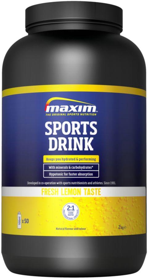 Sports Drink 2 Kg Lemon Energidrikk
