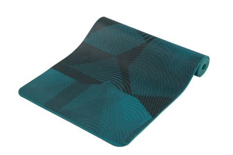 Motion Print 3 mm yogamatte PRINTED PRO BLU
