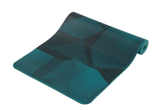 Yoga mat Motion print 3mm PRINTED PRO BLU