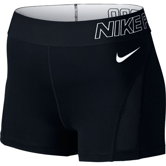 "Pro Hypercool 3"" Shorts Dame BLACK/WHITE"