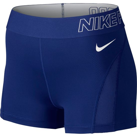 "Pro Hypercool 3"" Shorts Dame DEEP ROYAL BLUE"