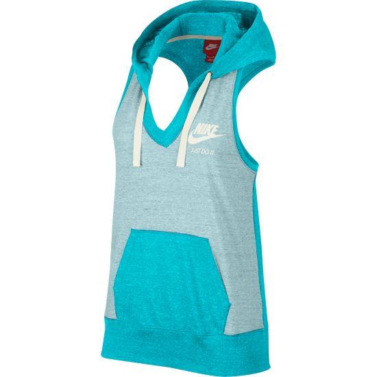 Gym Vintage Vest Dame OMEGA BLUE/SAIL