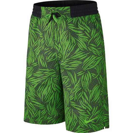 AOP Badeshorts Junior ACTION GREEN