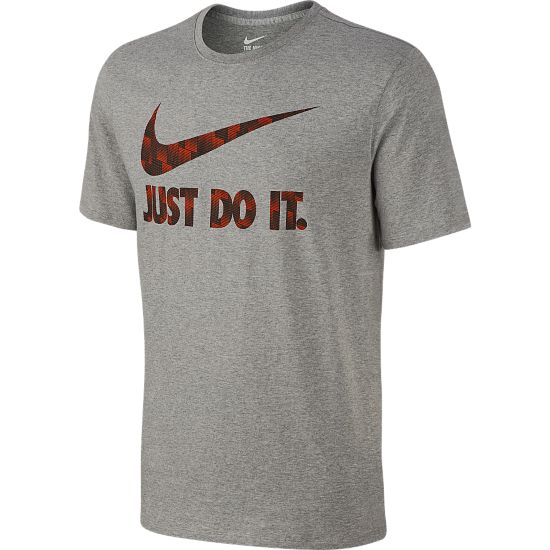 Ultra JDI T-skjorte Herre DK GREY HEATHER