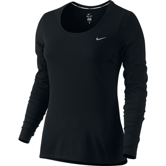 Dri-Fit Contour Langermet T-skjorte Dame