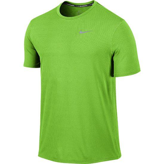 Dri-Fit Contour T-skjorte Herre ACTION GREEN/RE